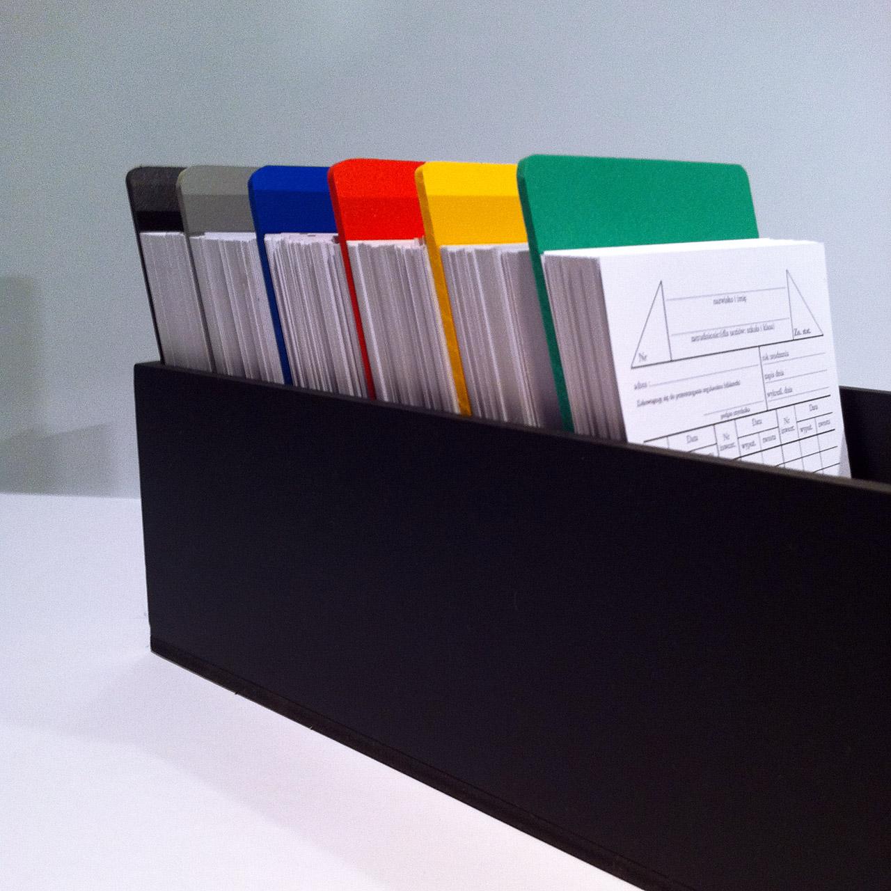 Przekładki do kart czytelnika